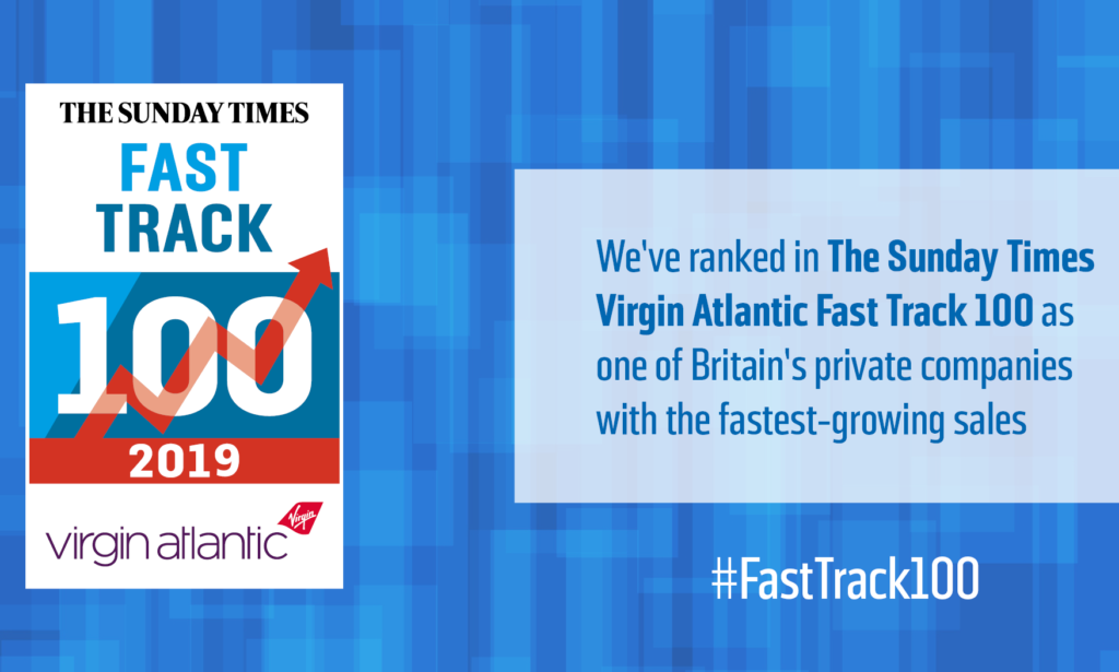 2019 Fast Track 100 social media graphic 1 e1575306842480 1024x615 1 - Phoenix Cellular Listed in the Sunday Times Fast Track 100